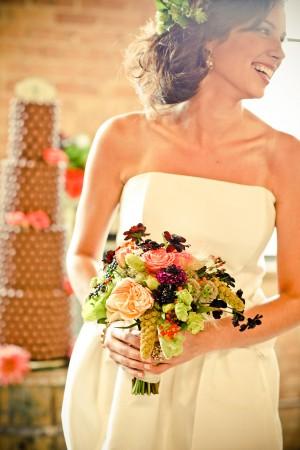 Свадьба в стиле модерн растик