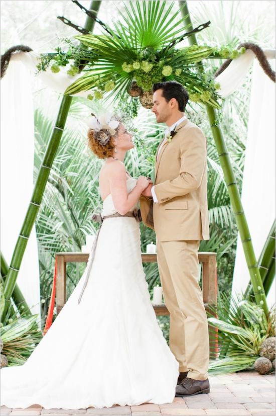Свадебная арка сафари