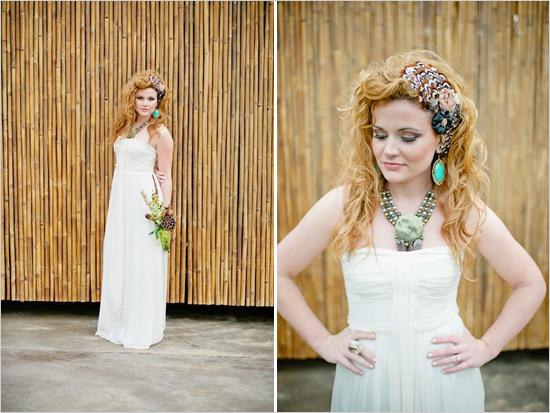 Образ невесты сафари