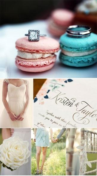 Макаруны на свадьбу