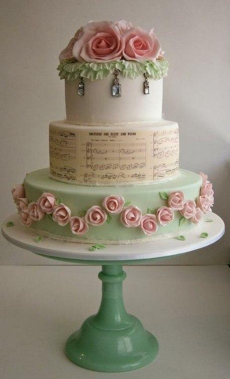 Стильные свадебные торты