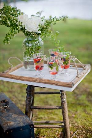 Летний напиток на свадьбу