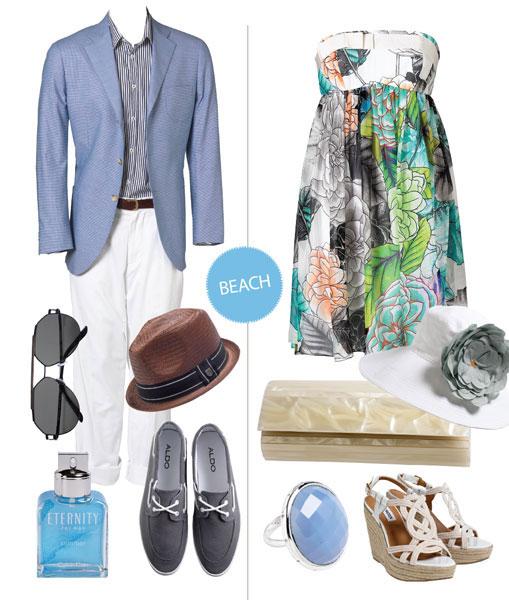 Летний дресс-код на свадьбу