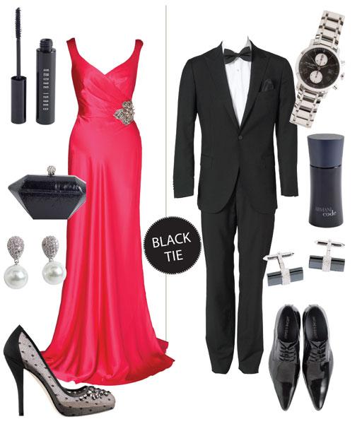 Формальный вечерний дресс-код на свадьбу