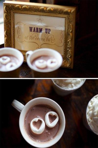 Горячий шоколад на свадьбу