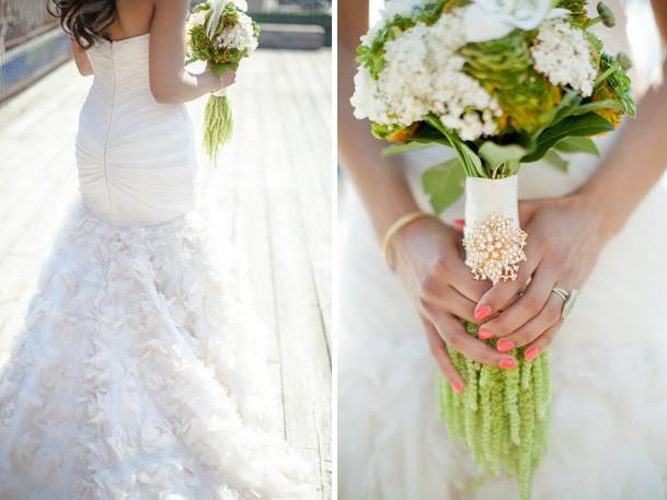 Свежий букет невесты