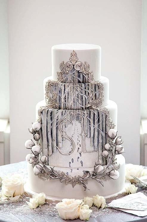 Сказочный свадебный торт