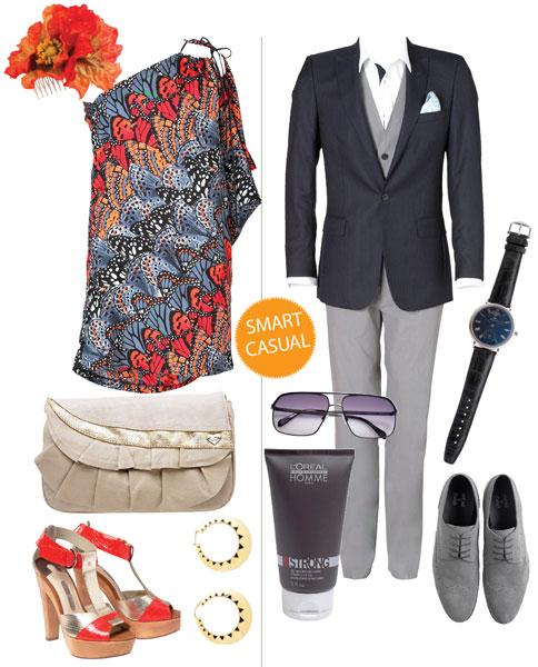 Неофициальный дресс-код на свадьбу