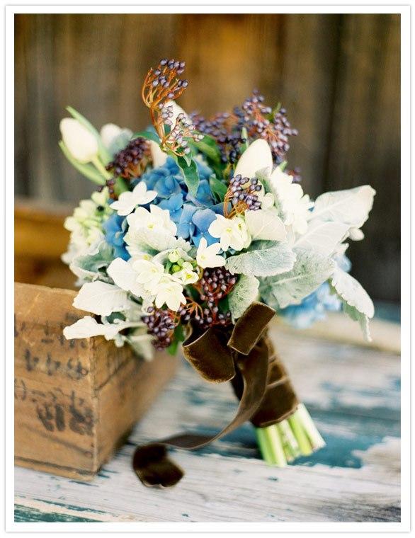 Трогательный букет невесты