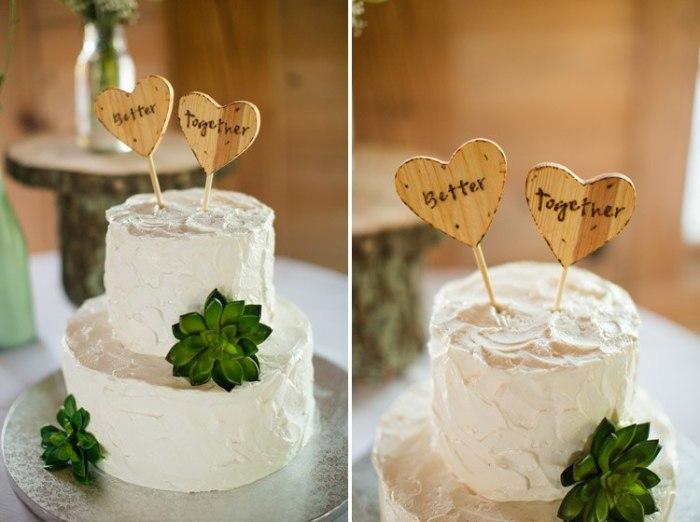 Милый тортик на свадьбу