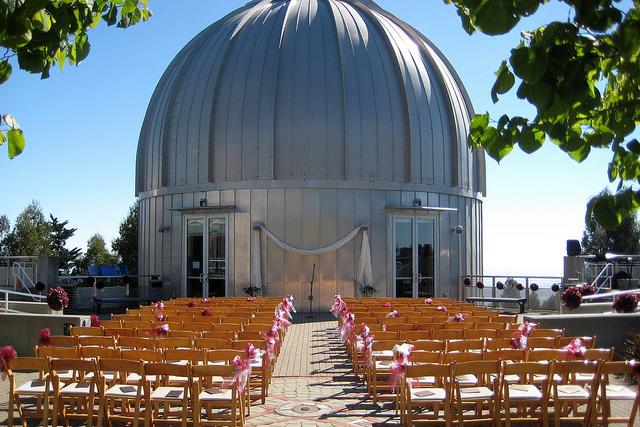 Выездная регистрация в обсерватории
