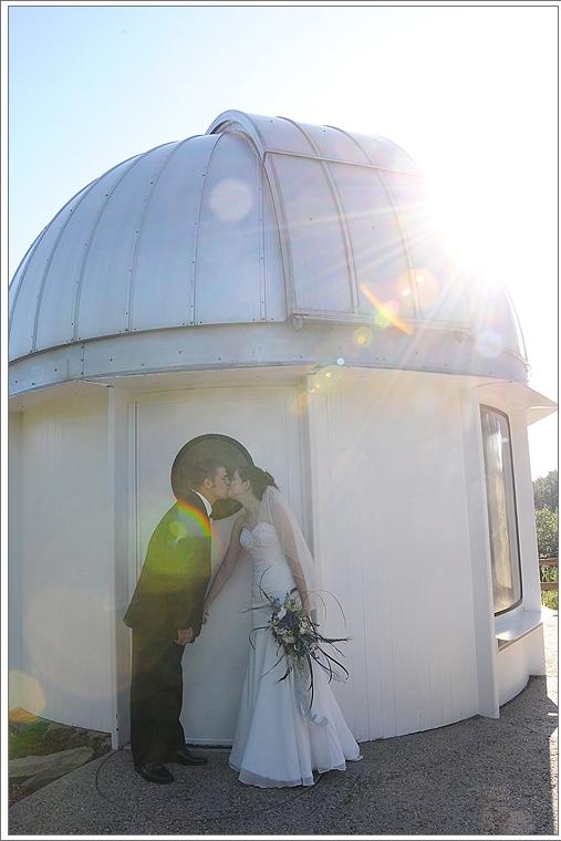 Тема свадьбы - космос