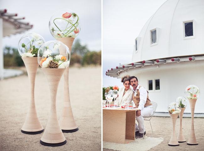 Свадьба в космическом стиле