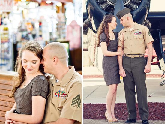 Помолвка с военнослужащим