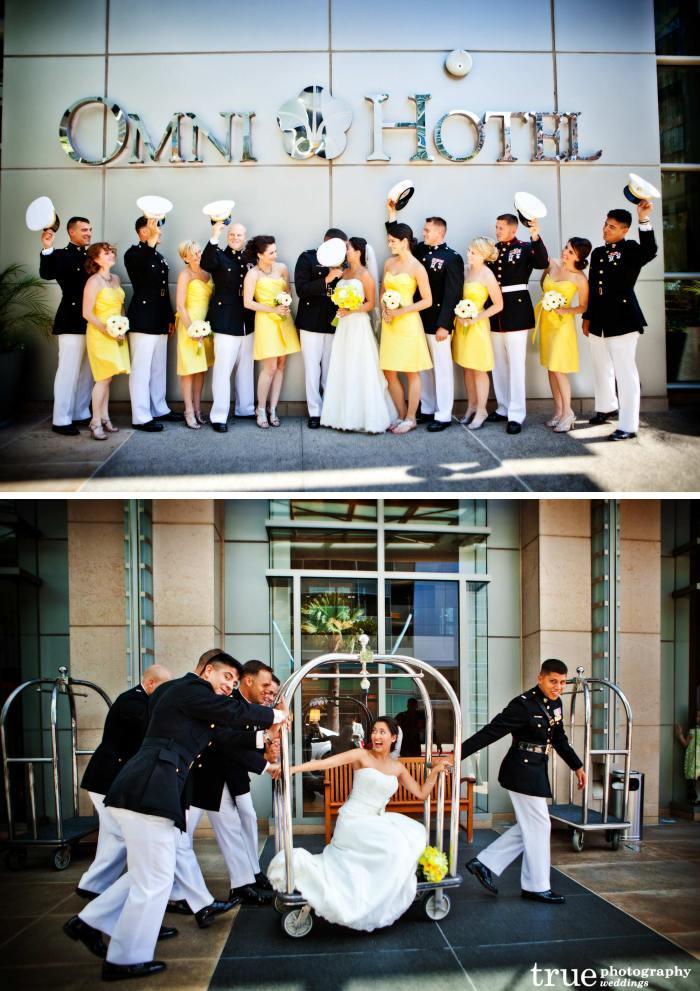 Свадьба милитари