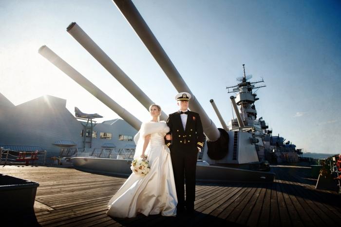 Свадьба военных