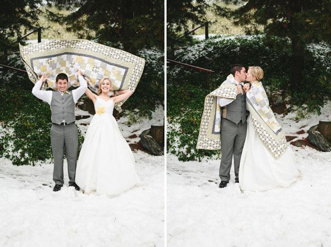 Плед на свадьбу