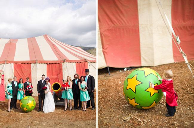 Цирковая свадьба