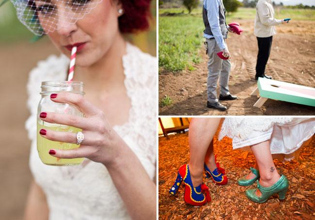 Винтажная цирковая свадьба