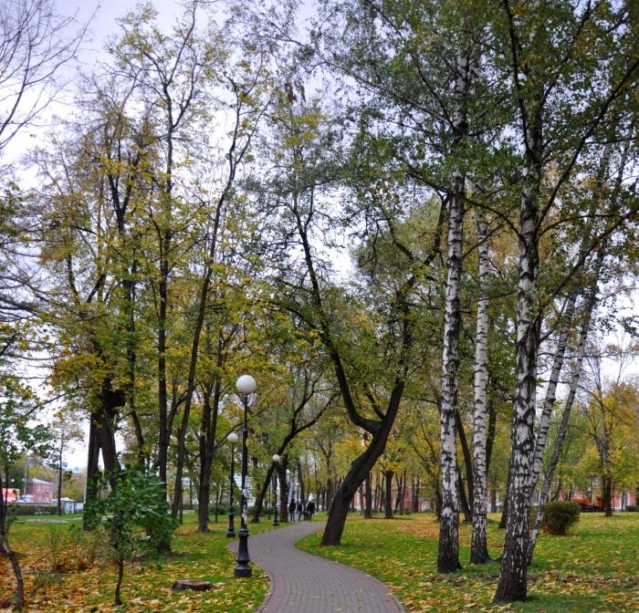 Бульвар-парк «Исторические ландшафты Москвы»