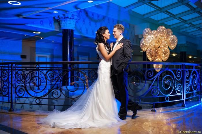 Свадебная съемка в отеле