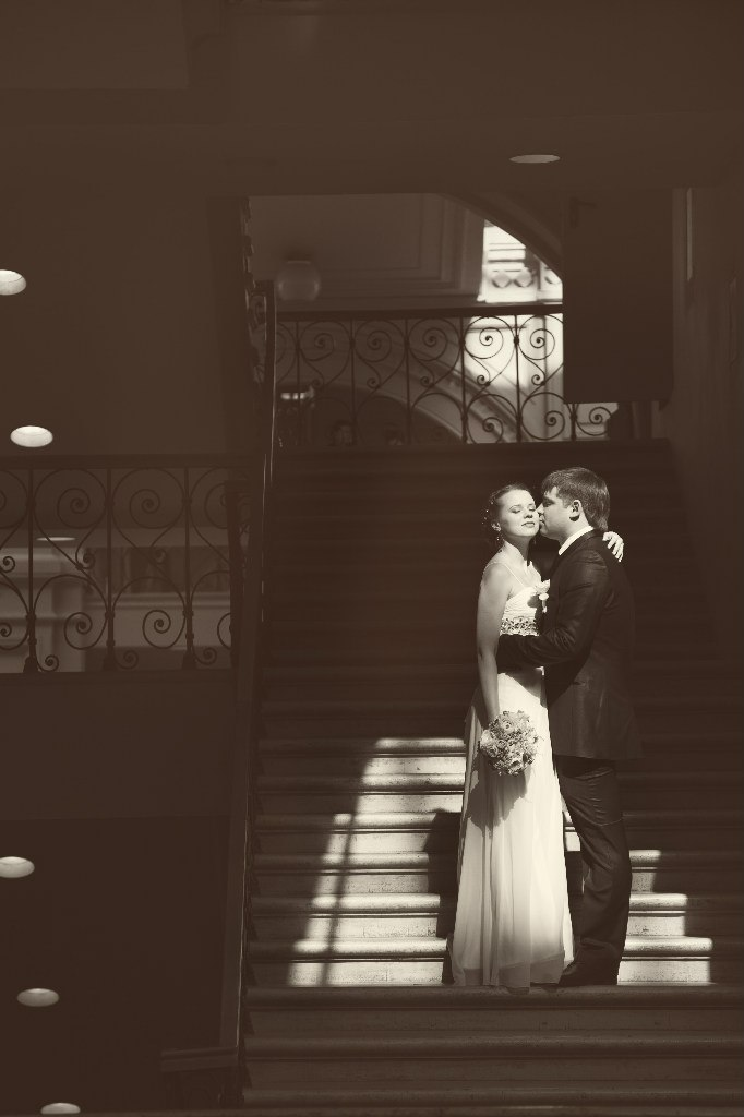 Свадебная съемка в ТЦ