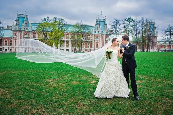 Усадьба в Москве для свадебной фотосессии и прогулки