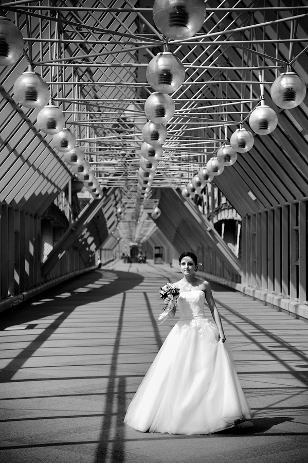Фотосет на мосту