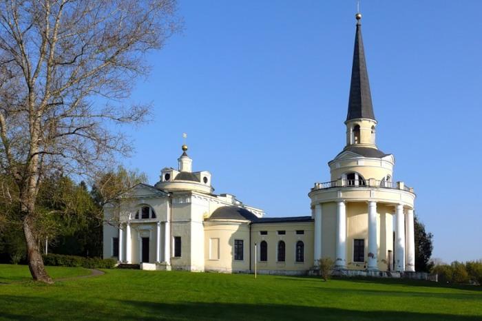 Церковь в Введенском