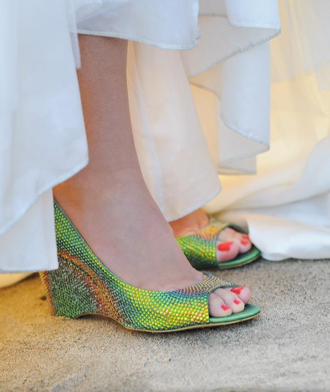 Туфли в стиле русалочка