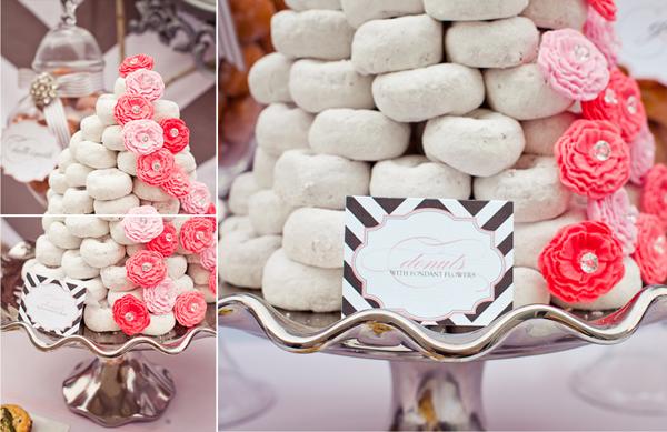 Свадебное угощение - пончики