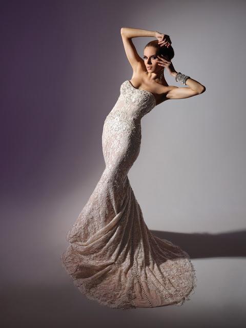 Платья для свадьбы с темой русалка