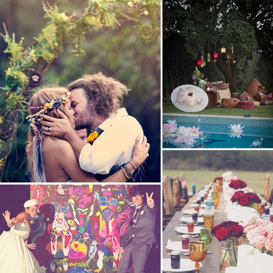 Бохо стиль идея для свадьбы