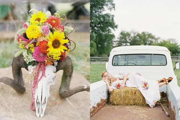 Бохо - свадебное вдохновение