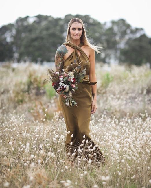 Невеста в образе бохо