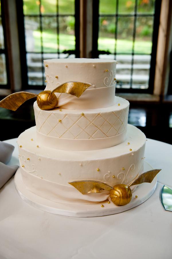 Свадебный торт на тему Гарри Поттер