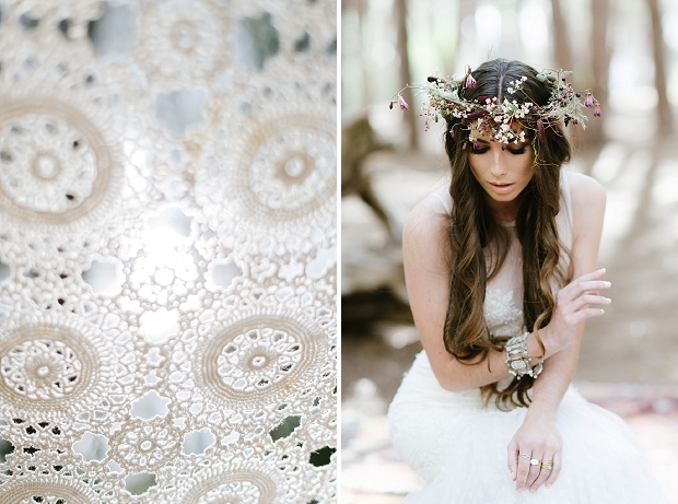 Эклектичный образ невесты