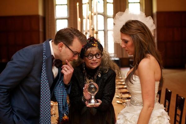 Невеста и жених в образах Гарри Поттера