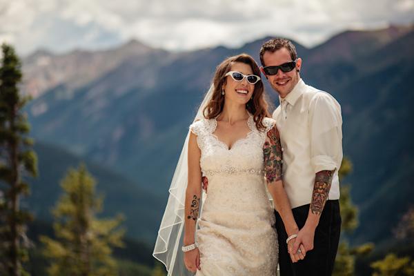 Свадьба в стиле рок-н-ролл арт деко