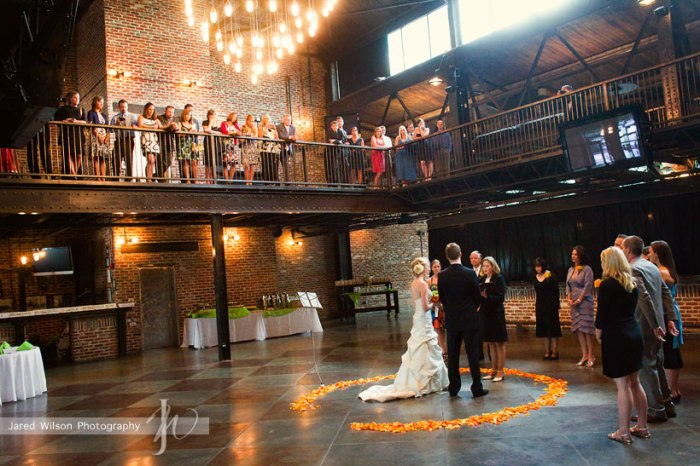 Лофт для свадьбы