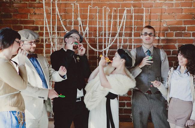 Свадьба стилизованная хипстеров