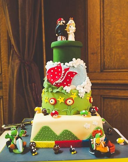 Супер-Марио торт
