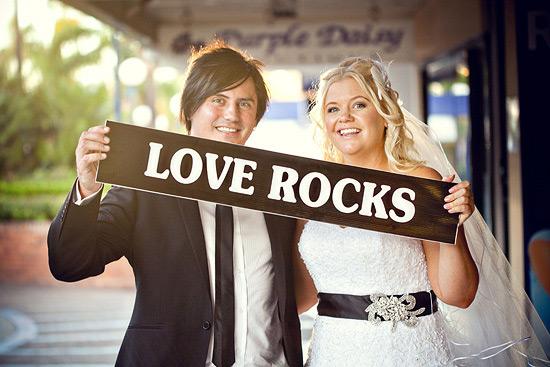 Тема свадьбы: рок