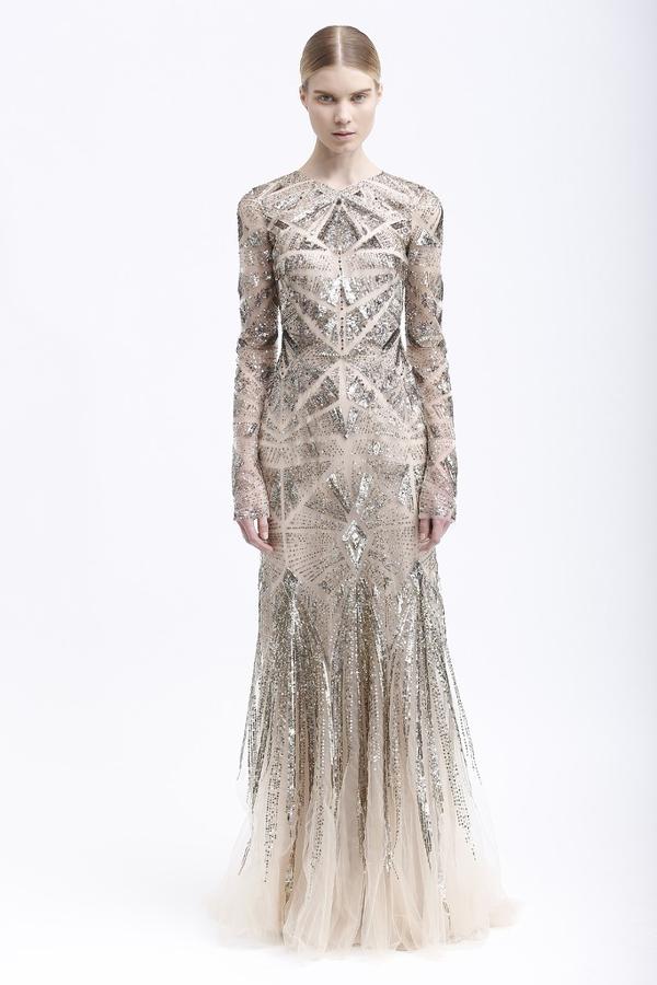 Металлик свадебное платье