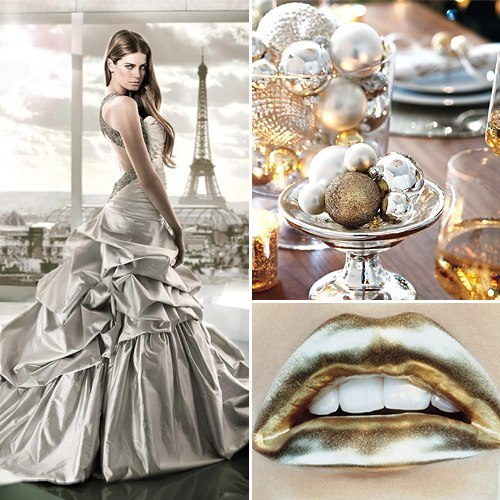 Тема свадьбы - металлик
