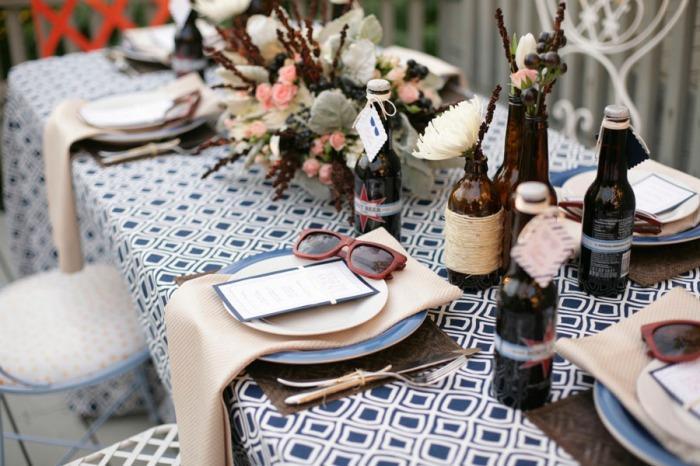 Хипстерский свадебный декор
