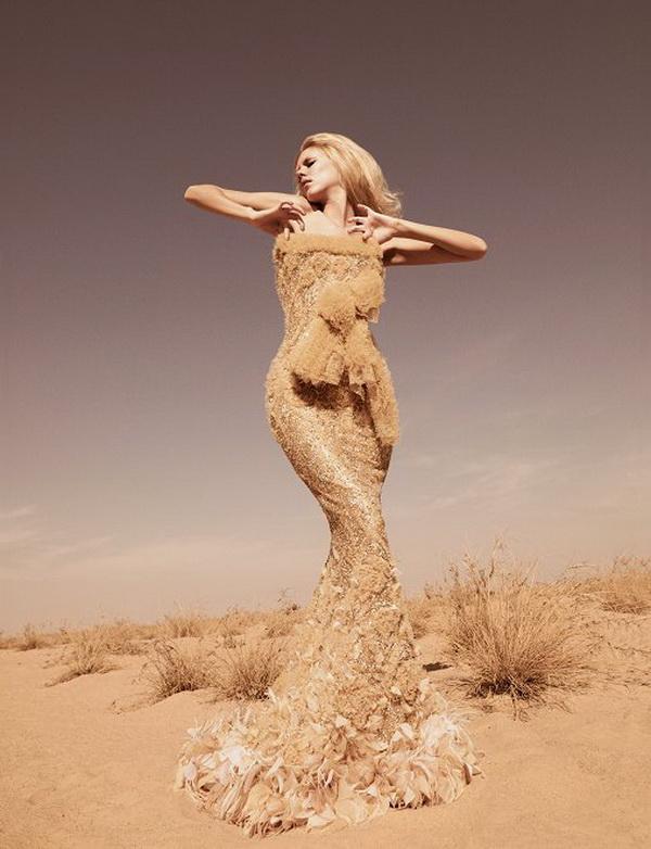 Съемки в пустыне