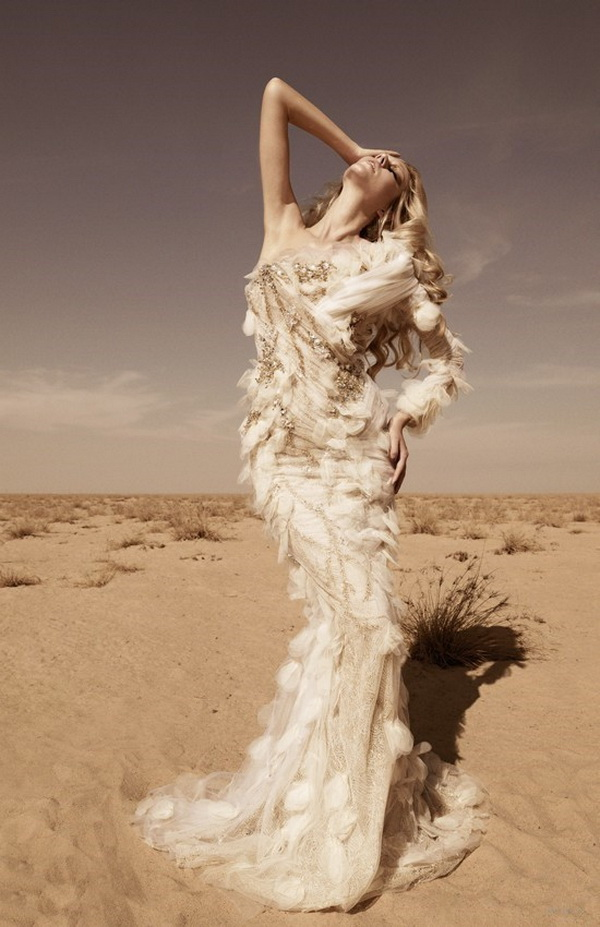 Свадебное платье от дизайнера Shady Zeineldine