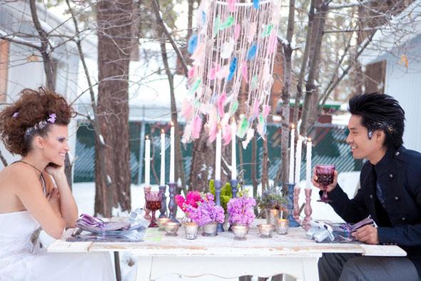 Зимняя рок-свадьба