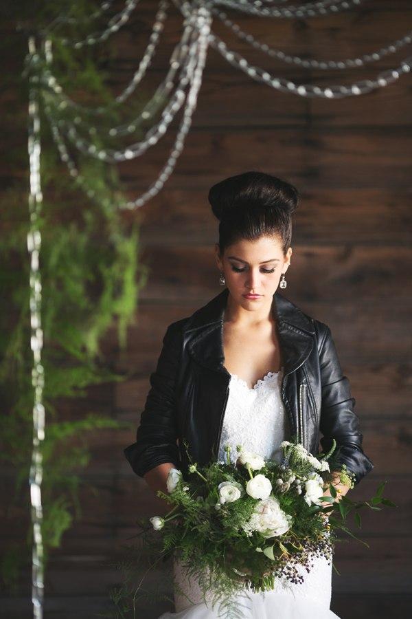 Свадьба в стиле рок-н-ролл шик